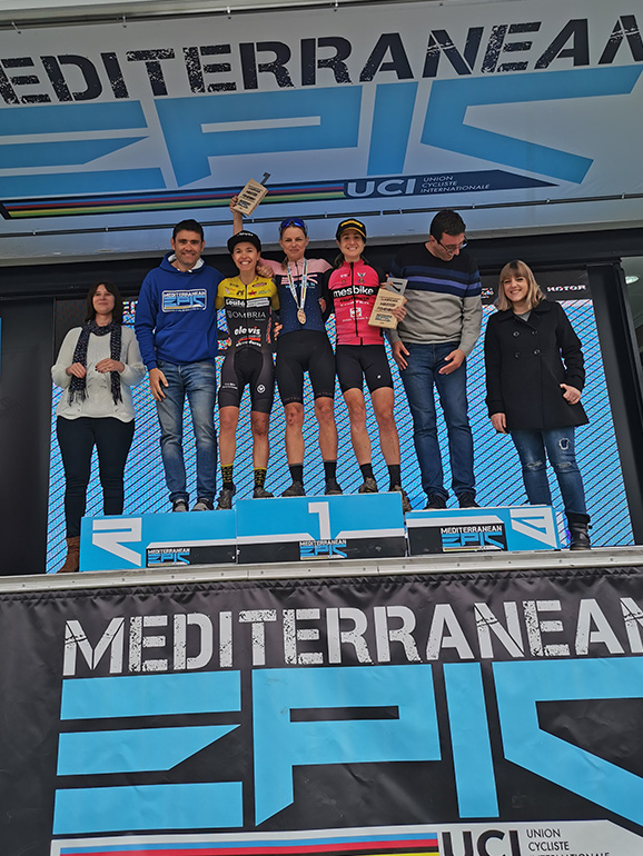 MIsha Sekulova wins the Mediterranean Epic