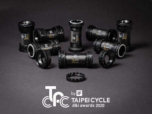 "Gecko Grip awarded with the ""Taipei Cycle d&I awards 2020 by iF"" award"