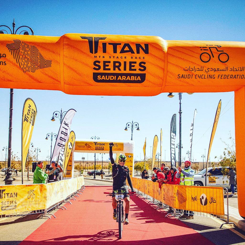 Stage victory in the Titan Series Arabia Saudi